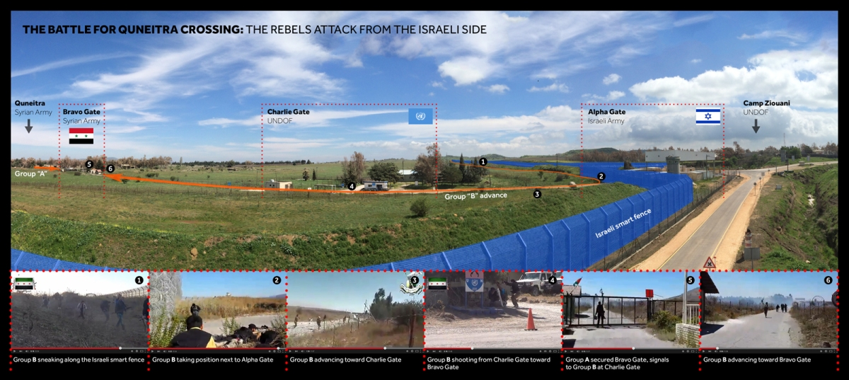 2014 Quneitra Offensive: Draft visuals of an aborted project